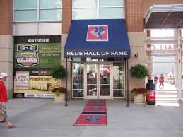 Entrance into the Cincinnati Reds Hall of Fame.