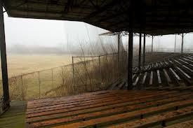Stadium seating.