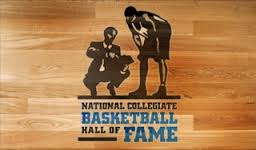 National Collegiate Basketball Hall of Fame Logo.