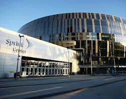 Sprint Center. Home of the College Basketball Experience and the National Collegiate Basketball Hall of Fame.