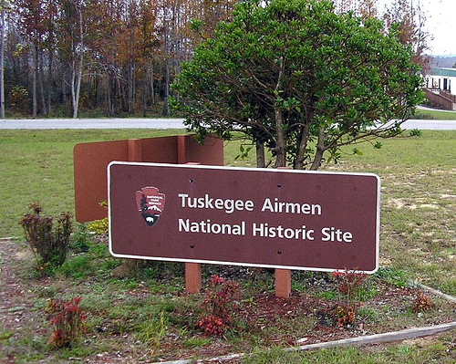 Entrance to the Tuskegee Airmen National Historic Site