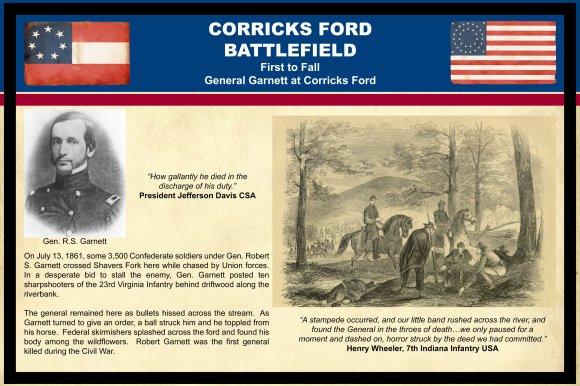 First to Fall - General Garnett at Corricks Ford