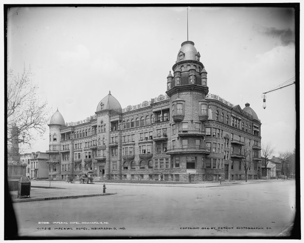 The Imperial Hotel, 1904. Photo held by the Library of Congress.
