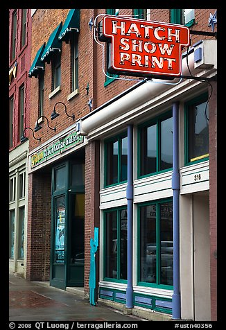 Charles and Herbert Hatch opened their print shop in 1879 and has been a landmark business in Nashville ever since.