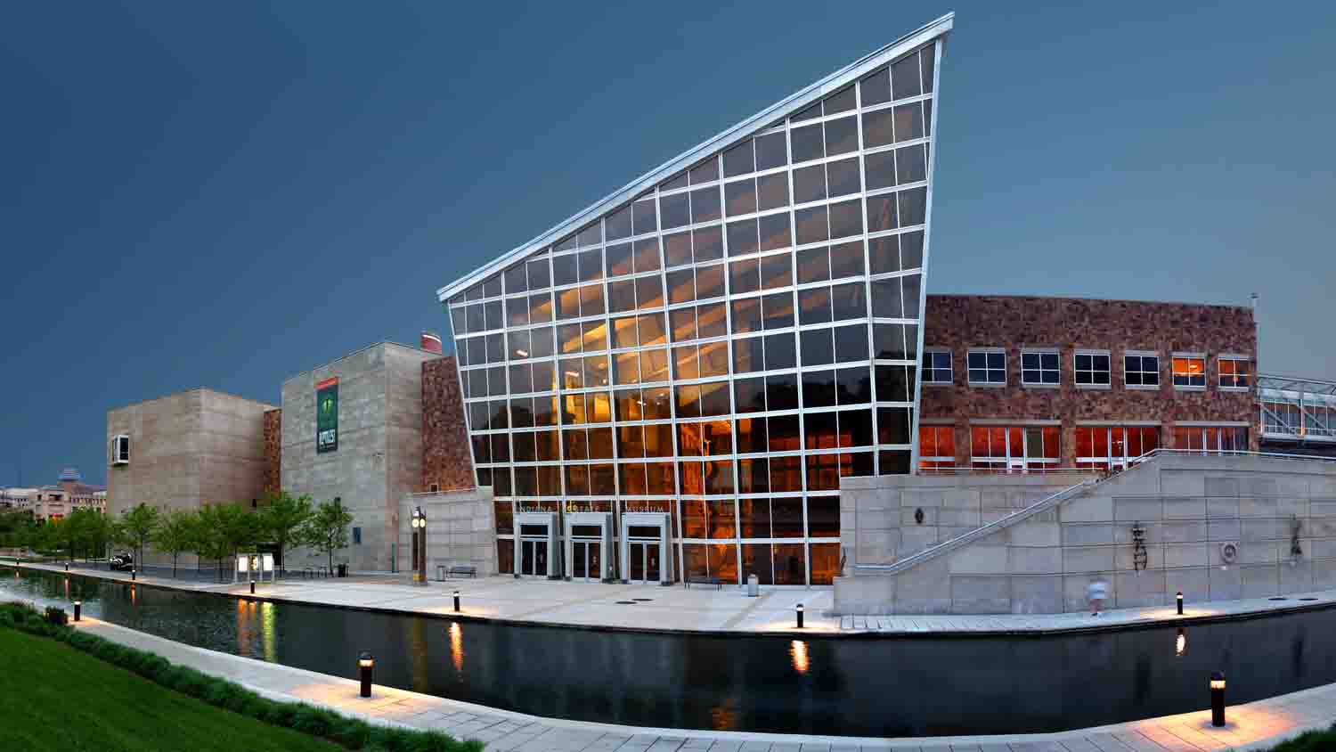 Nearly 700,000 people visit the Indiana State Museum each year.
