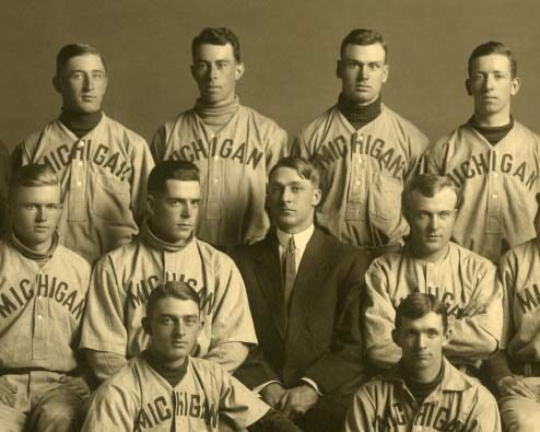 University of Michigan Baseball Team 1911