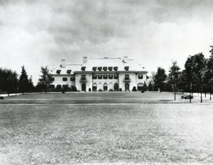 Undated photo of Oldfields. Courtesy of the Indianapolis Museum of Art