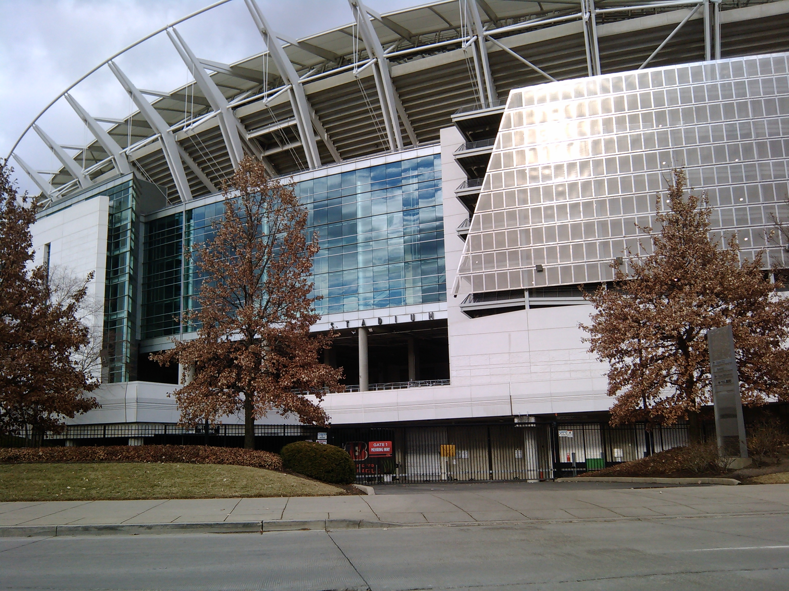 Paul Brown Stadium Outside View