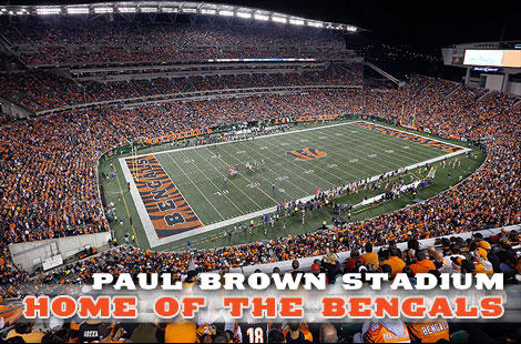 Paul Brown Stadium-Cincinnati Bengals