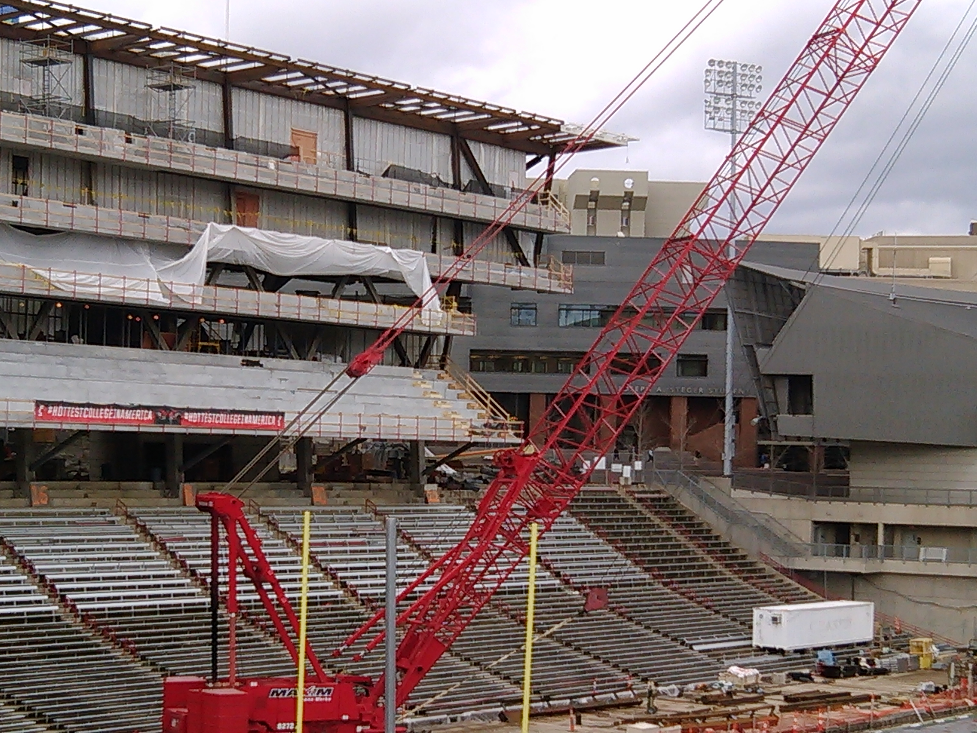 2014 Nippert Stadium Renovations
