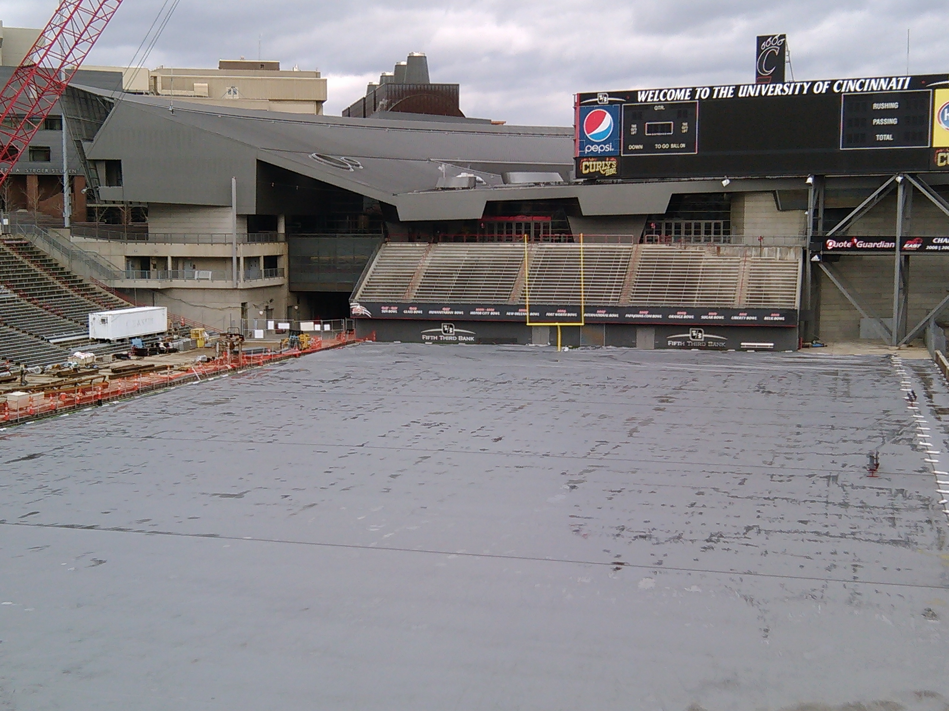 2014 Nippert Stadium/ Carson Field Renovations