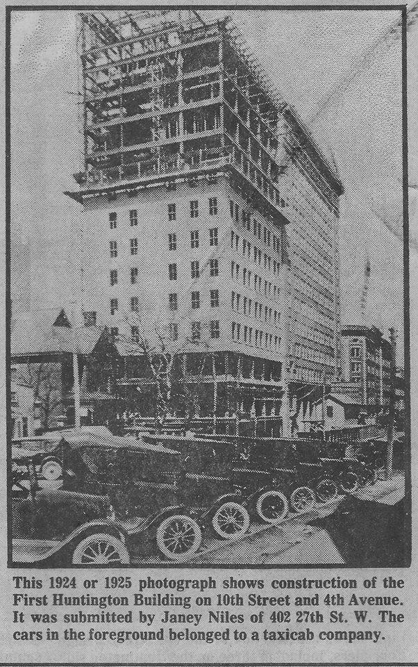 Construction of the 1925 addition