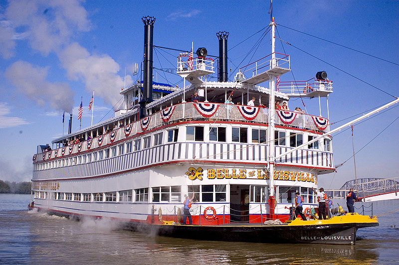 The Belle of Louisville (image from Belle of Louisville website)