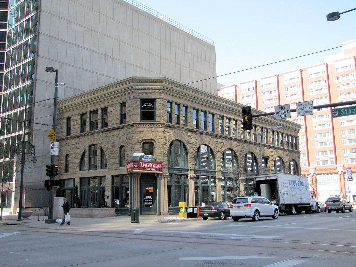 Ghost Building Corner