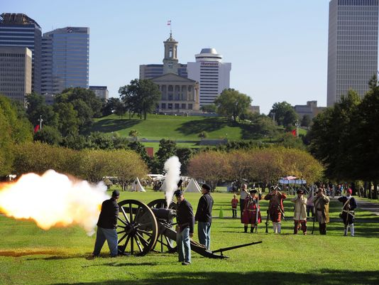 The park hosts the Tennessee History Festival each October