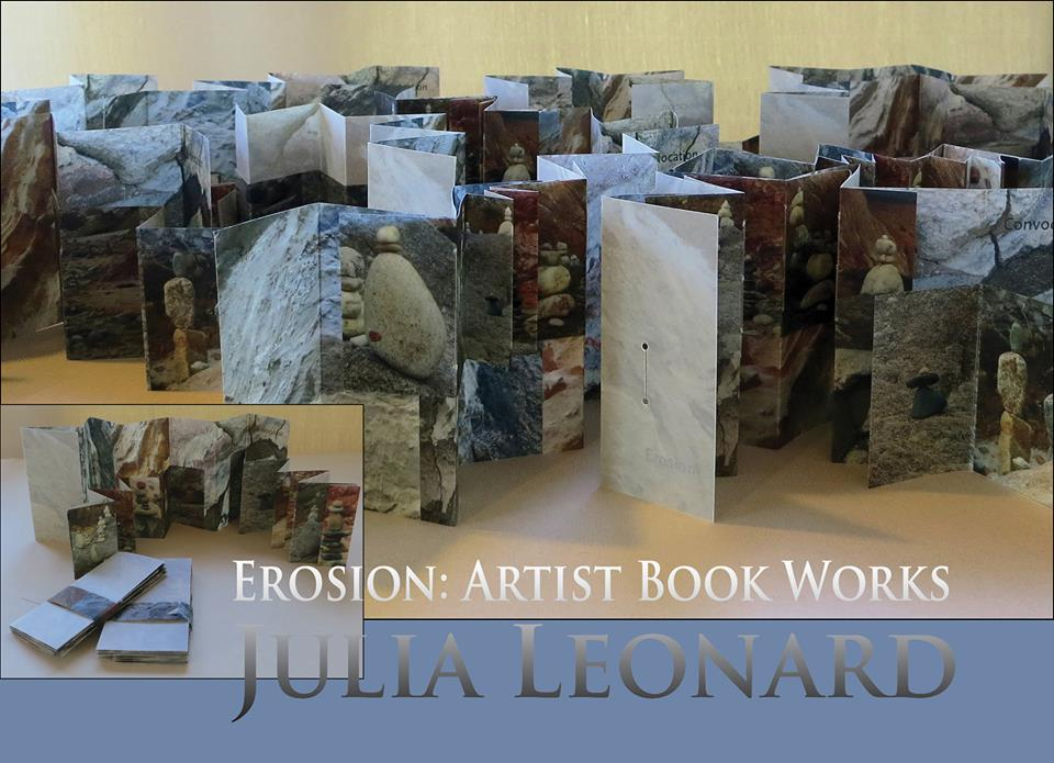 Erosion: Artist Book Works - Julia Leonard