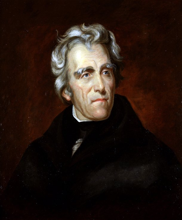 Andrew Jackson. Courtesy of the U.S. Senate. 