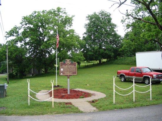Bentonville Anti-Horse Thief Society Marker