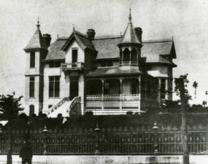 Captain Tom Ryman's house, from Tennessee Virtual Archive