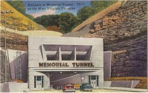 The entrance to the Memorial Tunnel