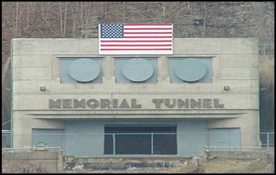 Entrance to Memorial Tunnel