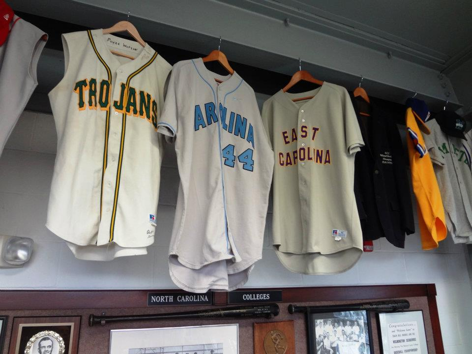 North Carolina College Baseball Jerseys