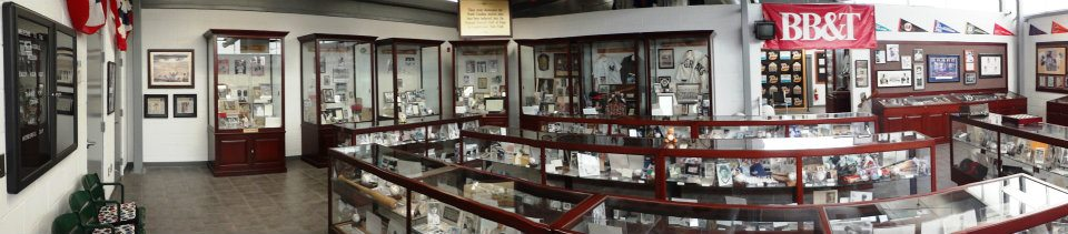 Panoramic View of the museum floor.