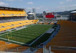 Heinz Field is the home of the Pittsburgh Steelers NFL team and the University of Pittsburgh football team. It was built in 2001.