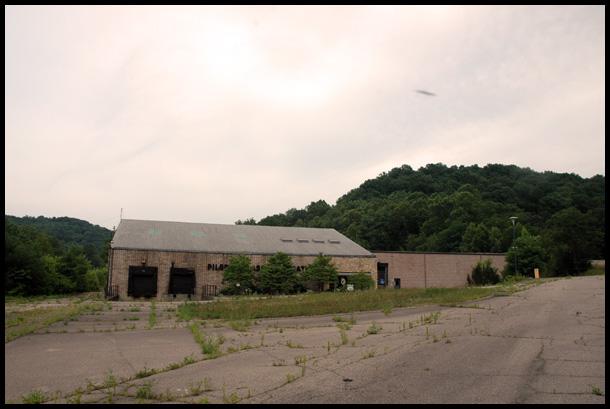 The  Pilgrim factory building today.