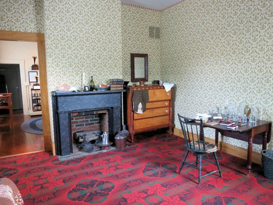 Thomas Edison's rooms (image from Trip Advisor)
