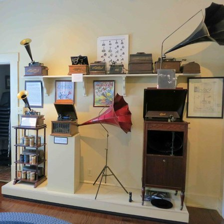 Exhibit featuring Edison's inventions in Butchertown, Louisville (image from Trip Advisor)