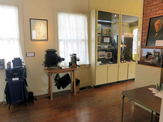 Edison inventions on display (image from Trip Advisor)