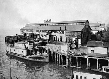 Pier 54 in 1901