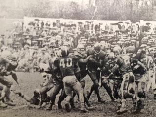 Charleston High School vs Stonewall Jackson High School at Laidley Field 1959.