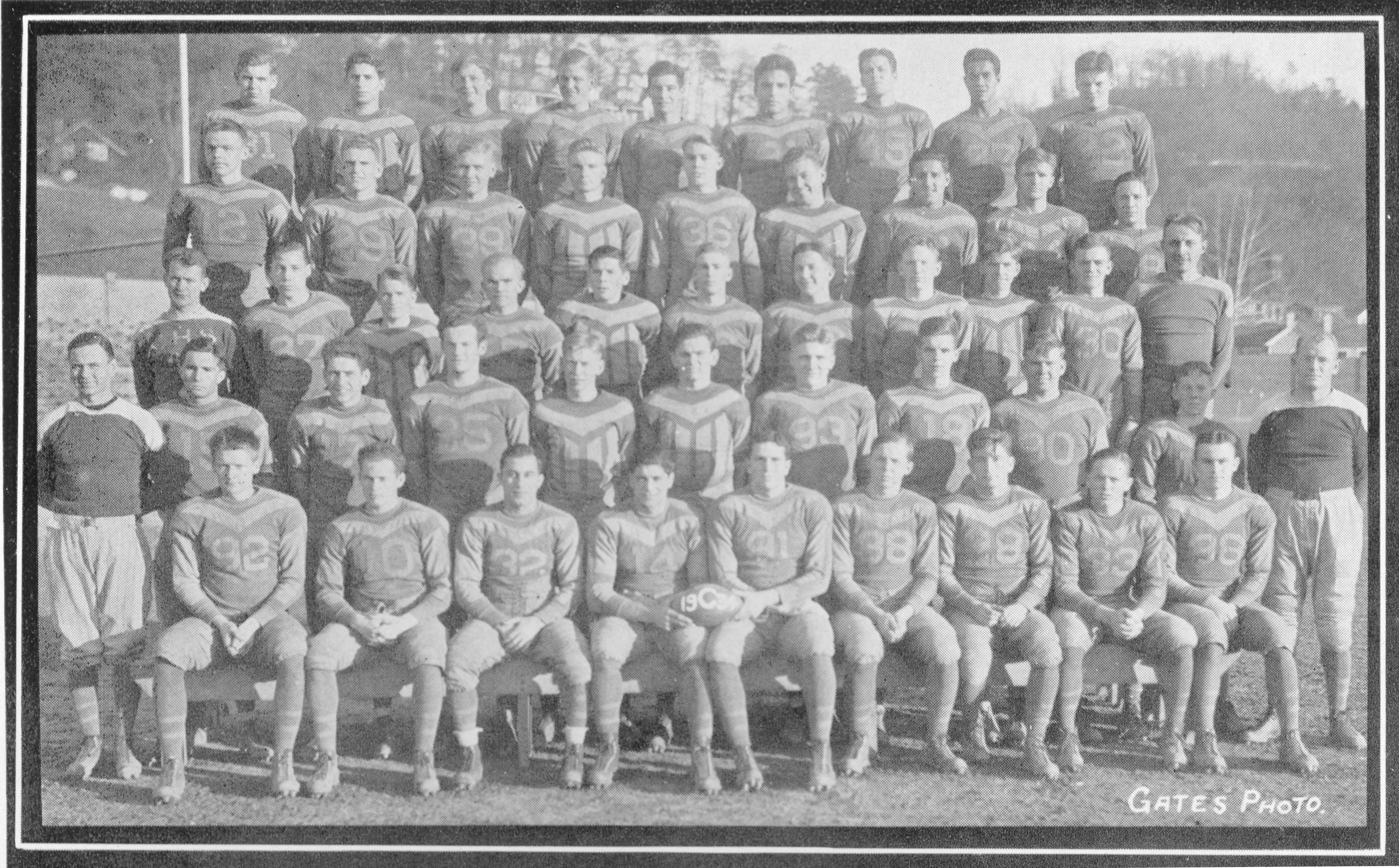 Charleston High School Football 1934