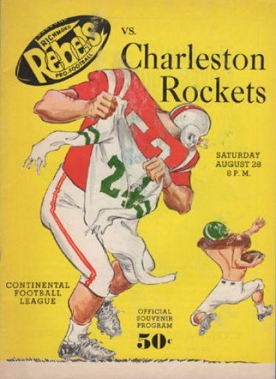 Charleston Rockets Program from 1965