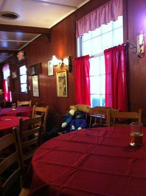 Inside the Olde Wayside Inn