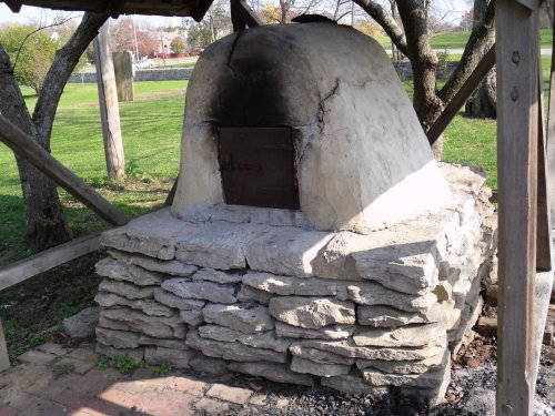 Bowen House bread oven