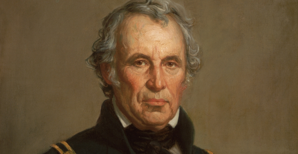 Portrait of Zachary Taylor