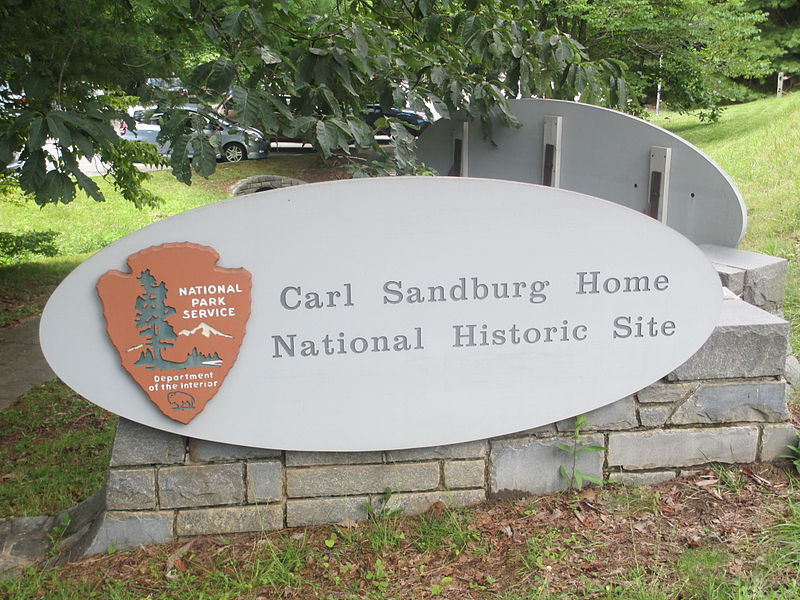 The Carl Sandburg Home National Historic Site