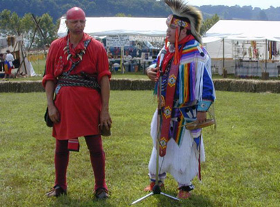 Photo depicts Fall Festival Natives courtesy of the Sequoya Birthplace Museum official website