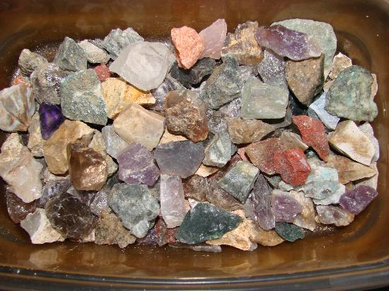 Hiddenite Gems Emerald Hollow Mine: rocks from this trip