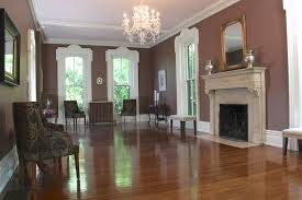 The front room (image from the Peterson-Dumesnil House Foundation)