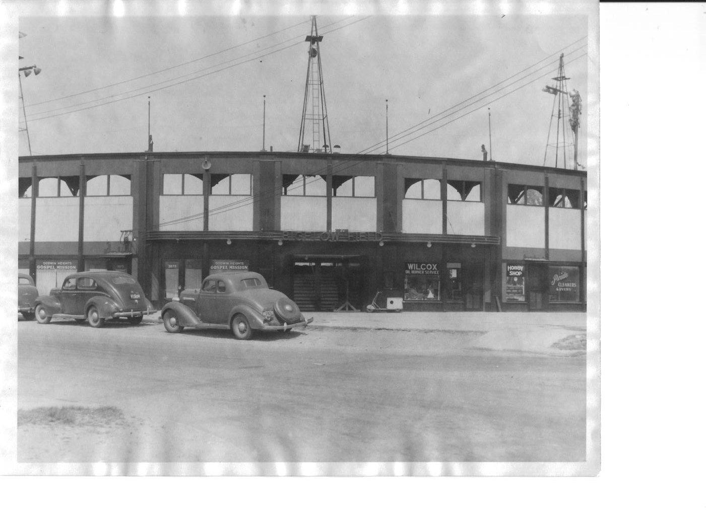 Bigelow Field, 1940.