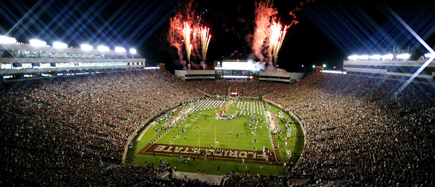 Nighttime at The Doak.