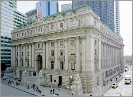 The Alexander Hamilton U.S. Custom House today