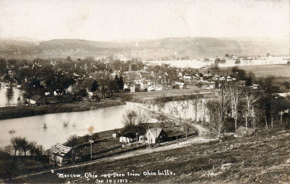 Moscow, Ohio circa 1913.