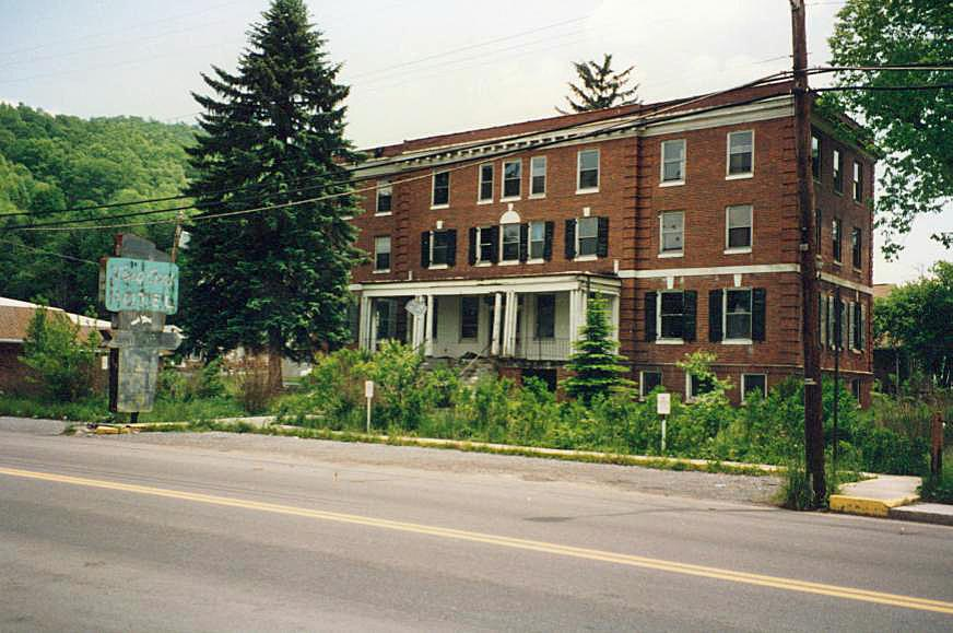 A view of the hotel in the late 1990s.