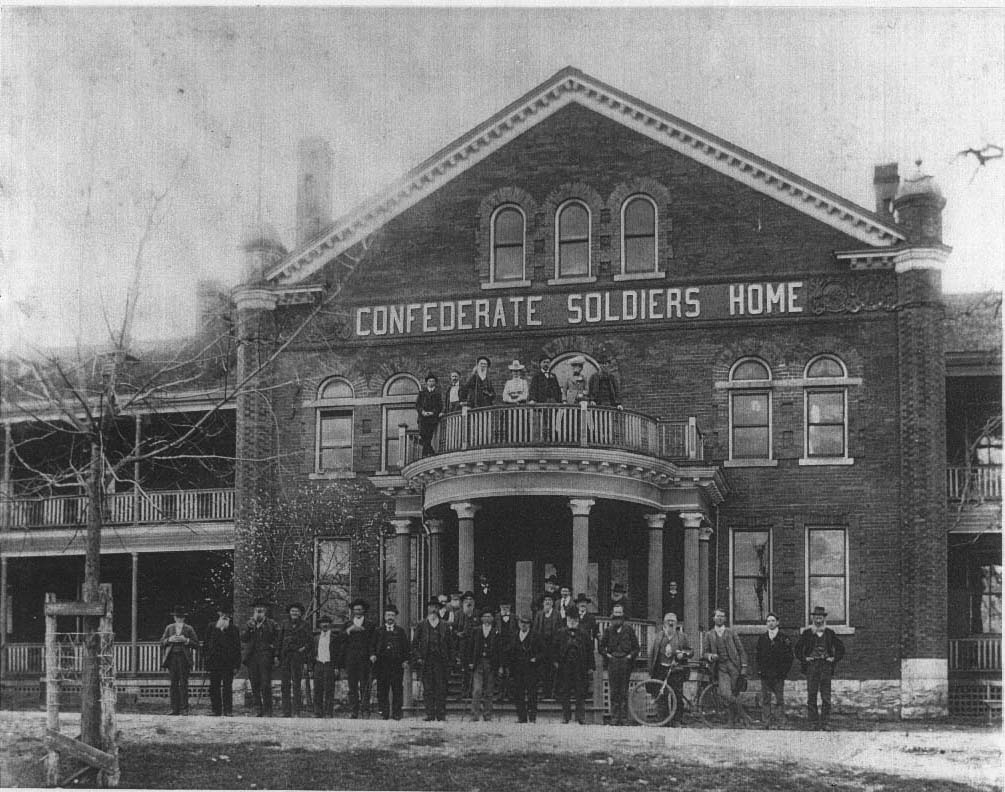 Confederate Soldiers Home courtesy of tslablog.blogspot.com. the State Library and Archives.jpg