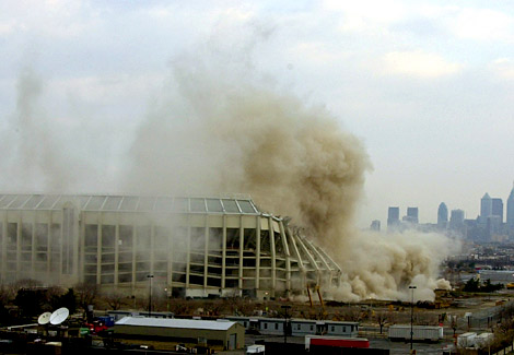 "The razing of ""The Vet"" on  March 24th, 2004"